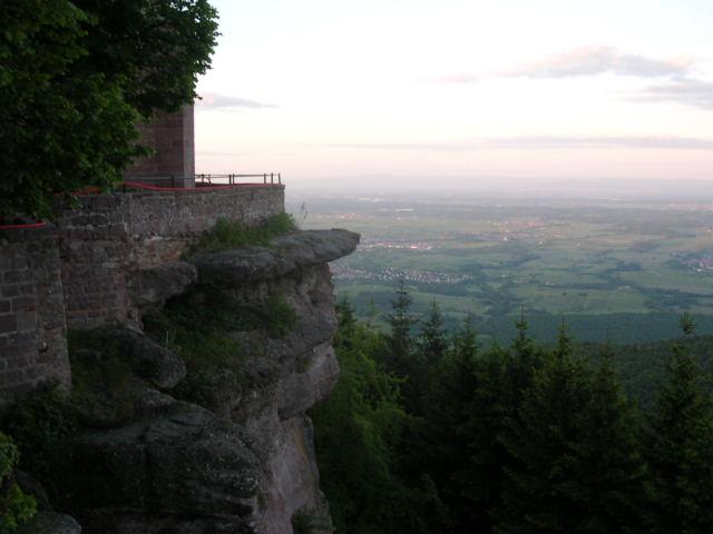 widok ze wzgórza Otylii rozciąga się do Czarnego Lasu i Belchenberge