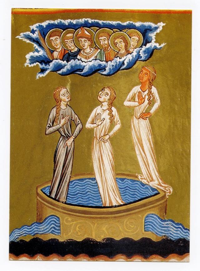 Trzy Panie Wody, od zawsze pilnujące świętych źródeł
