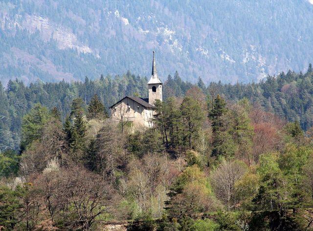 Kościół św. Jerzego w Rhäzüns, Gryzonia