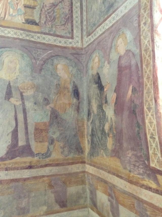 Freski w kaplicy Leonarda