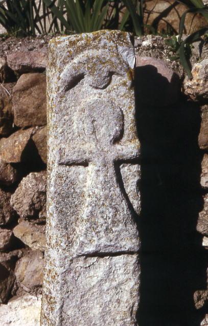 Symbol Tanit, bardzo podobny do egipskiego symbolu życia ankh